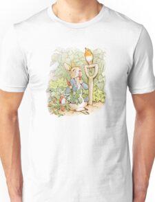 Peter Rabbit Steals Carrots Unisex T-Shirt