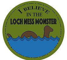 Loch Ness Monster by bookdragon