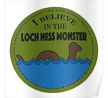 Loch Ness Monster Poster