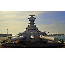 Battleship Diplomacy.... Photographic Print