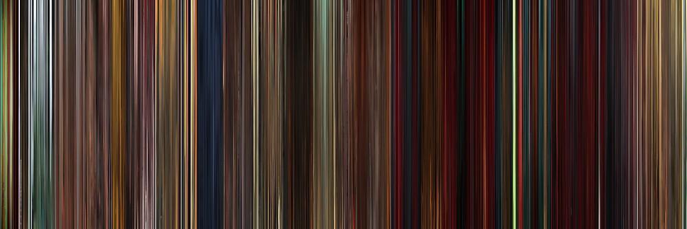 Moviebarcode: Kung Fu Panda 2 (2011) by moviebarcode