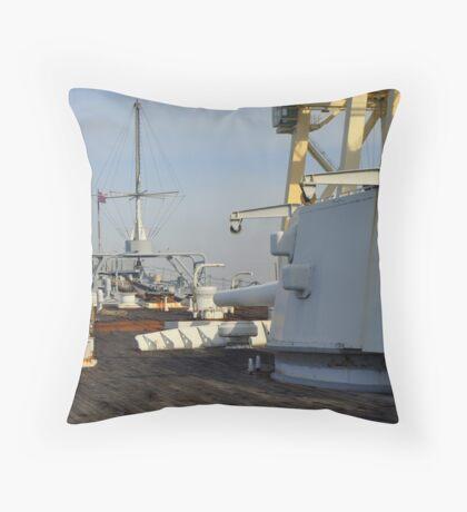 Battleship Diplomacy 2... Throw Pillow