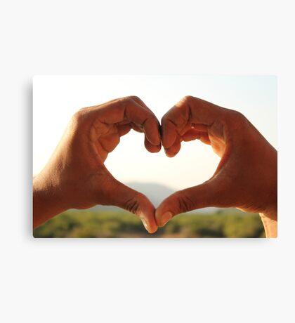heart -love Canvas Print