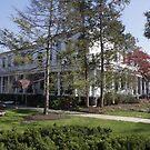 Carlisle Barracks Washington Hall by Jean Macaluso