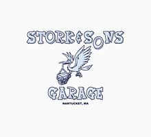 Stork and Sons Garage Unisex T-Shirt
