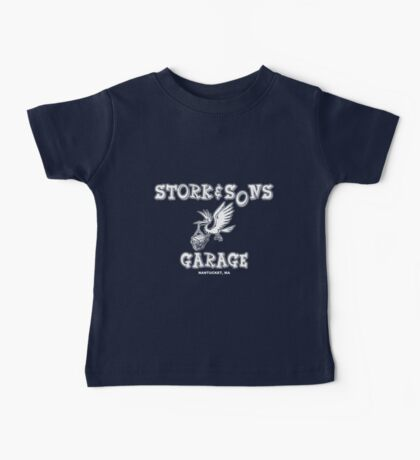 Stork and Sons Garage Dark Baby Tee