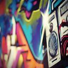 Urban Art Five by megandunn