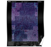 USGS Topo Map Washington State WA The Rockies 244258 1998 24000 Inverted Poster