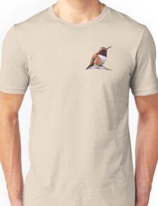 Male Rufous Hummingbird Unisex T-Shirt