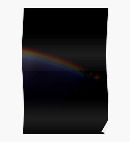 Dark Rainbow Poster