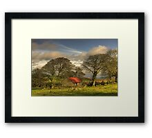 Emsworthy Barn Framed Print
