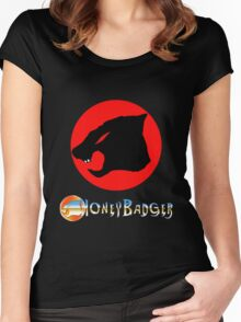 Honey Badger Women's Fitted Scoop T-Shirt