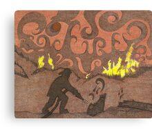 Firemans Tribute Canvas Print