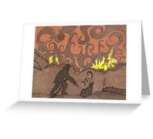 Firemans Tribute Greeting Card