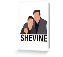 Shevine Greeting Card