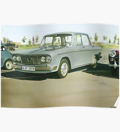 Lancia Fulvia Limousine Poster