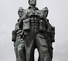 Commando Memorial Spean Bridge R.I.P. by albyw