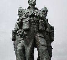 Commando Memorial Spean Bridge R.I.P. by albyw