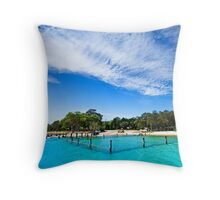 Amity Point - Nth Stradbroke Island, Qld Australia Throw Pillow