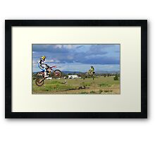 Hobart Jumpers Framed Print
