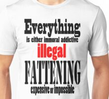 Everything sucks tee Unisex T-Shirt