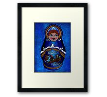 Russian doll Framed Print