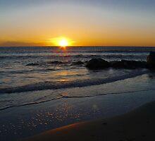 Folly Beach Sunrise by keeganspera
