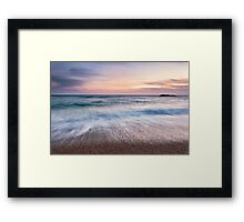 The Waters' Edge, Number 1 Framed Print