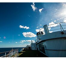 Ships funnel Photographic Print