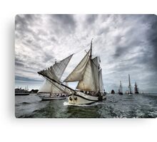 Maritime Calendar March Canvas Print