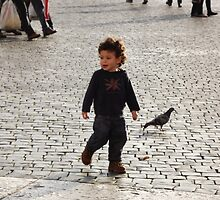 little kid Vatican square by graceloves