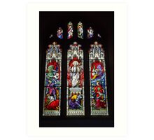 The Ascension, St Mary's Church, Worth Art Print
