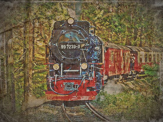 "99 7239-9 (Historic ""Brockenbahn"") by heinrich"