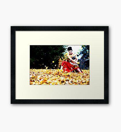 Bobbed Framed Print