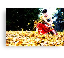 Bobbed Canvas Print