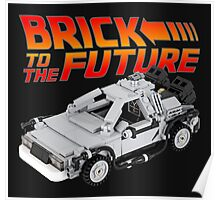 Brick To The Future Poster