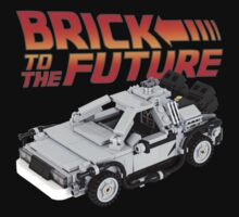 Brick To The Future Kids Clothes