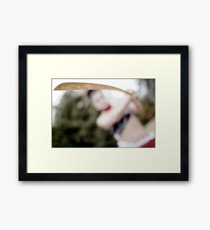 see Framed Print