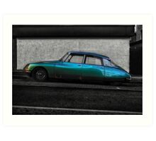 Citroën DS Art Print