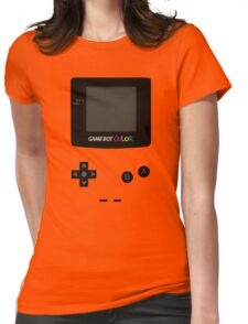 Game Boy Colour Tee Womens Fitted T-Shirt