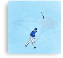 Jose Bat Flip. Canvas Print