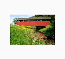 The Historic Buttonwood Covered Bridge In September T-Shirt