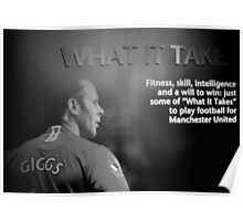 What it takes Poster