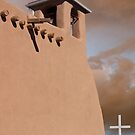 San Francisco de Asis at Ranchos de Taos by Mitchell Tillison