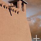 San Francisco de Asis at Ranchos de Taos by Mitchell Tillison