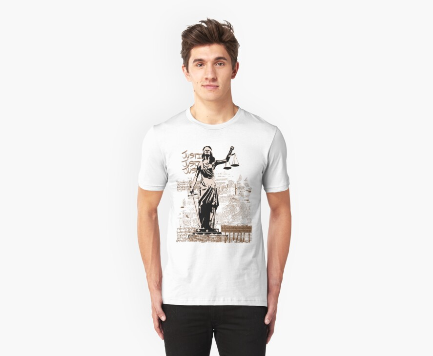 Fate and Fortune Tee (Light Background) by PONSHOP
