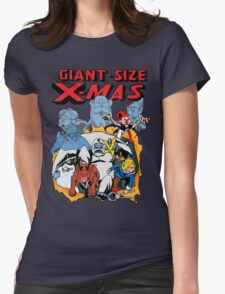 Giant Size X-Mas Womens Fitted T-Shirt
