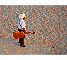 Musician. Photographic Print