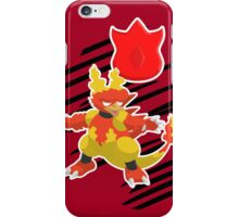 Volcano Badge Magmar iPhone Case/Skin