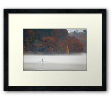 Early Morning Row Framed Print
